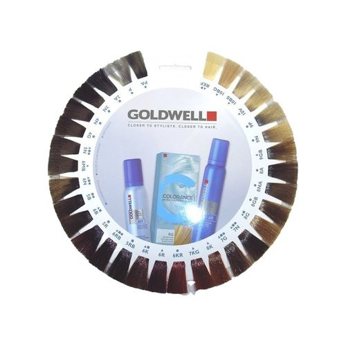 Goldwell Fönschaum Color Styling Mousse Farbkarte