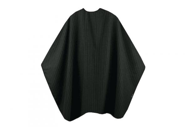Trend Design Mens Cape black Schneide-und Rasierumhang 137x170cm