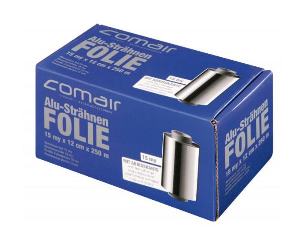 Comair Alufolie silber Rolle 15my