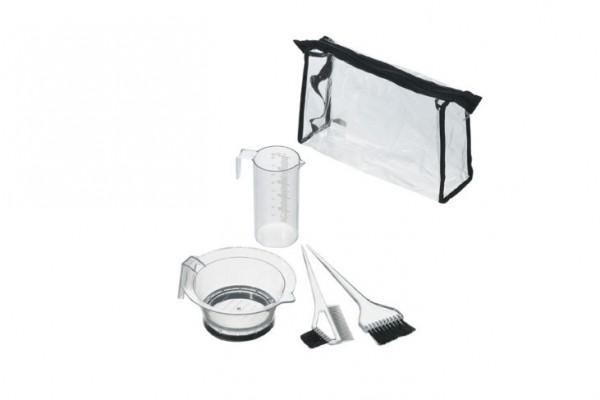 Comair Färbe-Zubehör-Set transparent