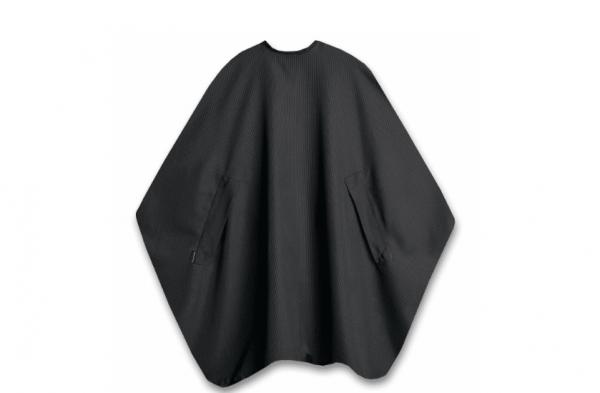 Trend Design Nano Air Men Nadelstreifen schwarz Schneideumhang 135x150cm