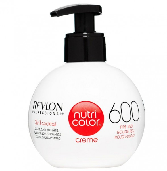 REVLON NUTRI COLOR CREME - 600 fire red 270ml