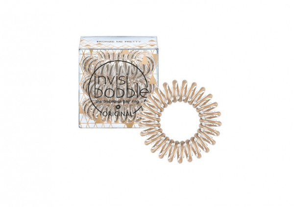 invisibobble Time To Shine Bronze Me Pretty 3er Set