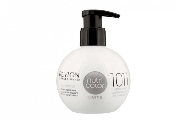 REVLON NUTRI COLOR CREME - 1011 intensives silber 270ml
