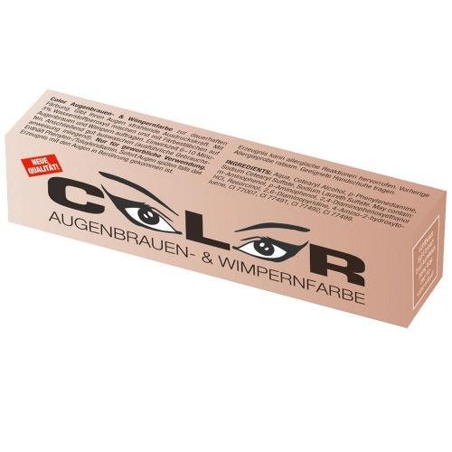 Color Augenbrauen-, und Wimpernfarbe lichtbraun 15ml