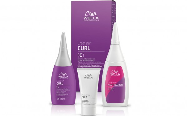 Wella Permanentes Styling CREATINE + CURL C/S HAIR KIT 75ml+100ml+30ml