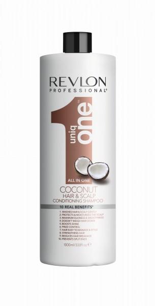 REVLON UNIQ ONE COCONUT CONDITIONER SHAMPOO 1000ml