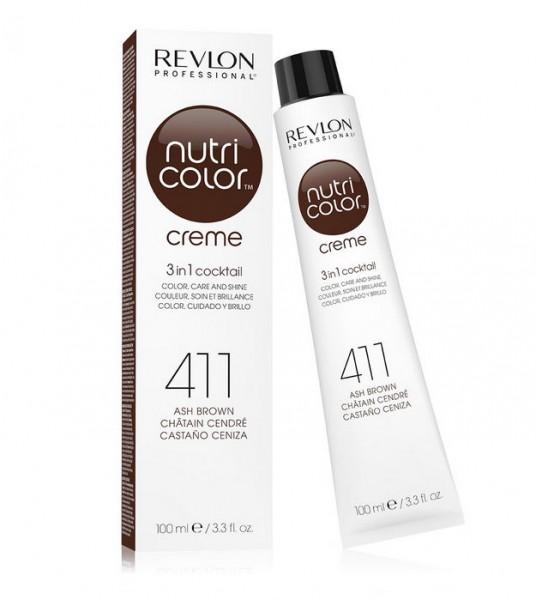 REVLON NUTRI COLOR CREME - 411 ash braun 100ml