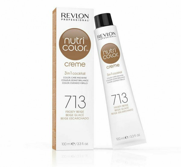 REVLON NUTRI COLOR CREME - 713 frosty beige 100ml