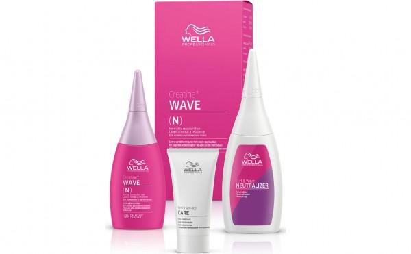 Wella Permanentes Styling CREATINE + WAVE N/R HAIR KIT 75ml+100ml+30ml