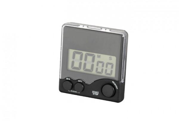 Comair Digitaltimer Clip 0-99min, inklusive Batterie, schwarz
