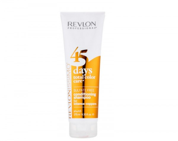 REVLON 45 DAYS IN-SALON-SERVICES SHAMPOO INTENS COPPERS 275ml