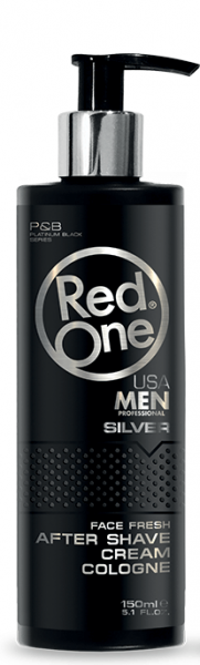 RedOne After Shave Cream Cologne Silver 150ml