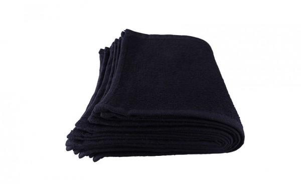 Comair Augentuch 30x15cm 10er Beutel 100% Baumwolle schwarz