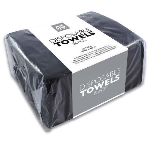 Goldwell Easydry Handtücher schwarz 50 Stück