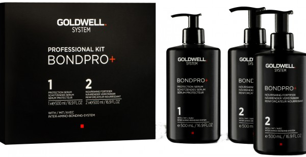 Goldwell BondPro+ Salon Kit Haar-Serum 3x500ml