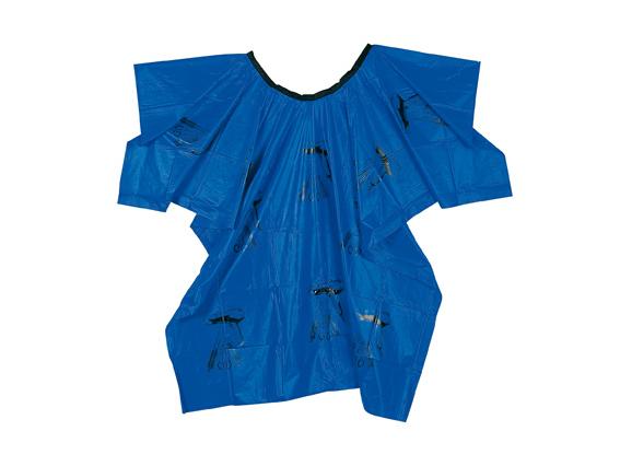 Comair Umhang Plastik Werkzeugmotiv Klettverschluss blau