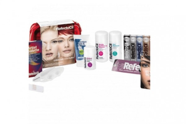 RefectoCil Professional Starter Kit Creative Color rot