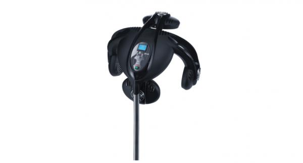 Ceriotti Trockenhaube FX4000 schwarz Infrarot mit Stativ 1400 Watt FX4000