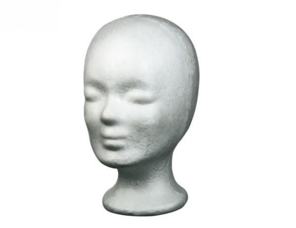 Comair Schaumstoffkopf weiß 25,5cm