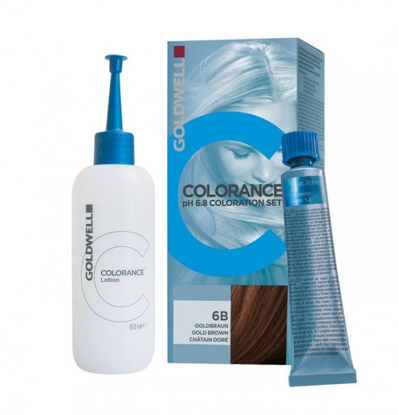 Goldwell COLORANCE PH 6,8 SET - 6RB rotbuche mittel 90ml