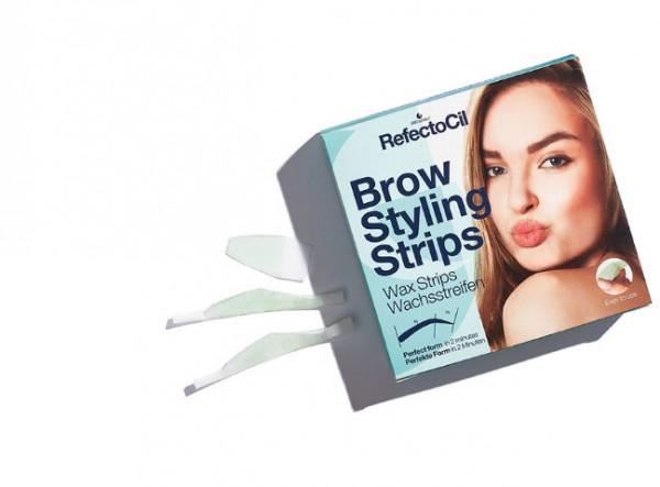 RefectoCil Brow Styling Strips Wachsstreifen für Brauen 20 Anwendungen