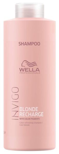 Wella INVIGO Blonde Recharge Cool Blonde Color Refreshing Shampoo