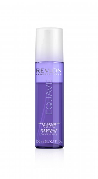 REVLON EQUAVE IB BLONDE DETANGLER LEAVE-IN CONDITIONER 200ml