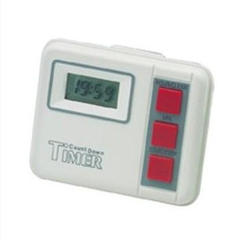 Comair Kurzzeit-Timer Digital weiß bis 20 Stunden mit Batterie