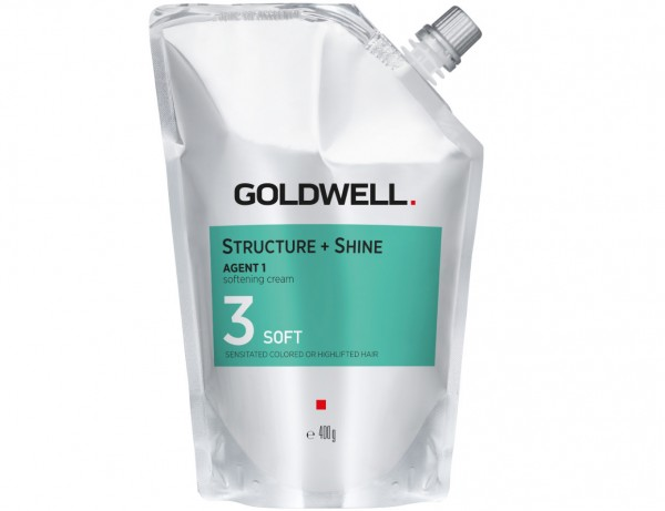 Goldwell STRUCTURE + SHINE - Soften CRM Soft/3 400ml