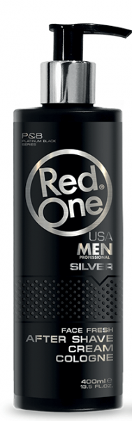 RedOne After Shave Cream Cologne Silver 400ml