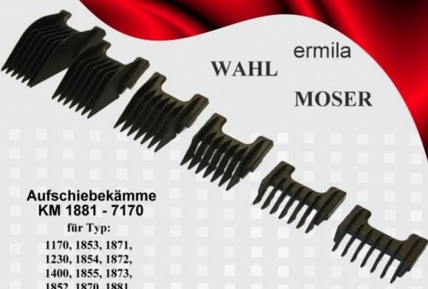 Moser Aufsteckkamm für Haarschneidemaschine