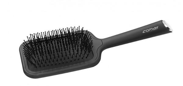 Comair Föhnbrettbürste Paddlebrush Soft-Touch Handgriff schwarz
