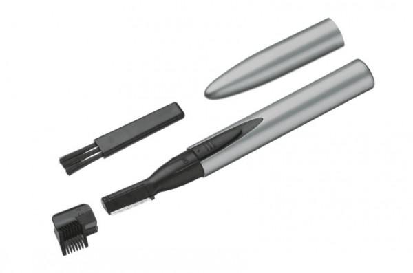 Comair Hairliner mit Batterie 9x19,5x3cm silber