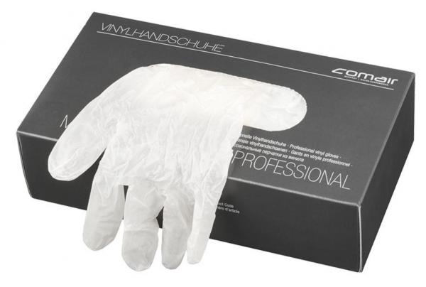 Comair Vinyl Handschuhe gepudert 100er Box
