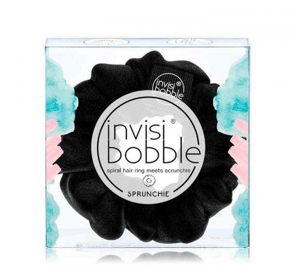 invisibobble SPRUNCHIE True Black hanging pack