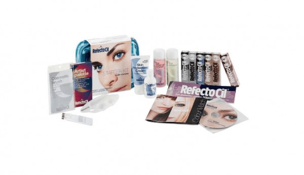 RefectoCil Professional Starter Kit Basic Color blau