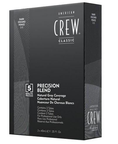 AMERICAN CREW PRECISION BLEND TÖNUNG DARK 3x40ml