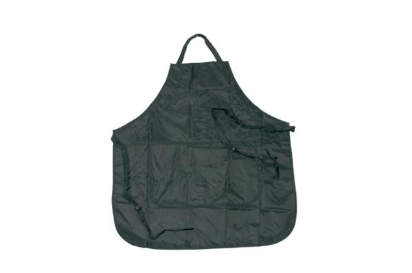 Comair Färbeschürze Protection schwarz, verstellbar, 2 Taschen 68x74,5cm