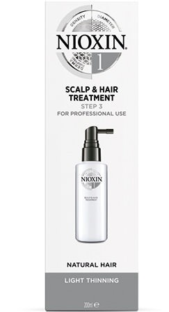 Nioxin System 1 Scalp & Hair Treatment Step 3