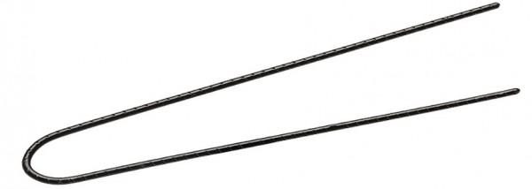Comair Lockennadeln geriffelt, 72mm Länge schwarz