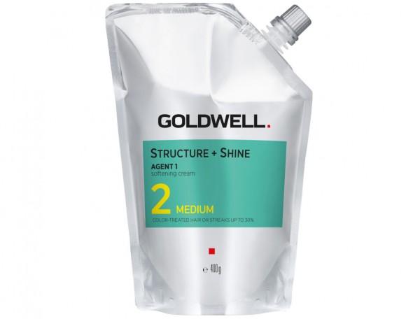 Goldwell STRUCTURE + SHINE - Soften CRM Medium/2 400ml