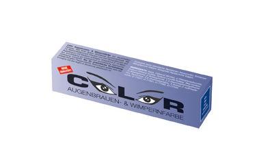 Color Augenbrauen-, und Wimpernfarbe blau 15ml