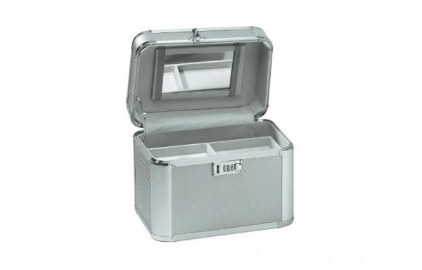 Comair Kosmetikkoffer Aluminium sillber Beauty Case
