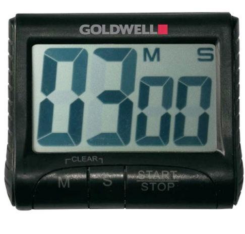 Goldwell Pro Edition Digital Timer silber Kurzzeitwecker