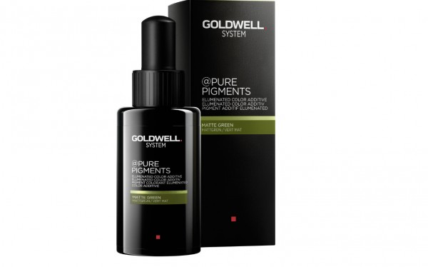 Goldwell Pure Pigments Grün Farbpigmnete 50ml