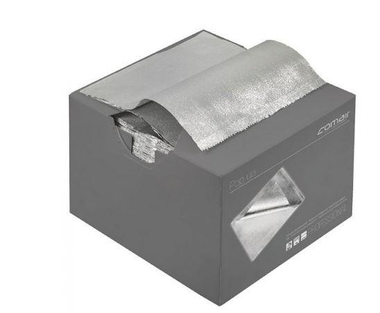 Comair Pop up Alufolie silber 500Stück vorgeschnitten 15my