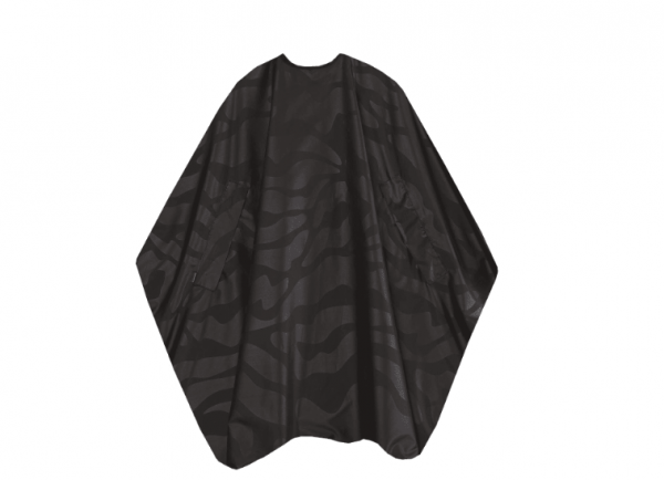 Trend Design Färbeumhang Nano compact schwarz mit Hakenverschluss 135x150cm