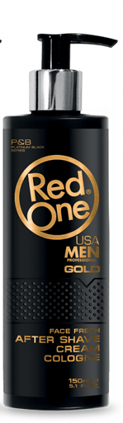RedOne After Shave Cream Cologne Gold 150ml