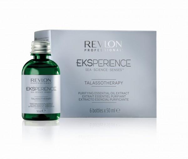 REVLON EKSPERIENCE TALASSO PURIFYING HAIR OIL 6 x 50ml